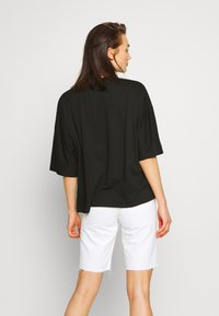 Missguided - DROP SHOULDER OVERSIZED 2 PACK - T-shirts - white/black - 2