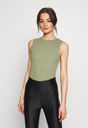 SLEEVELESS BODYSUIT 2 PACK - Topper - black/khaki