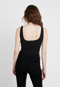 Missguided - ROPE LACE UP BODYSUIT - Top - black - 2