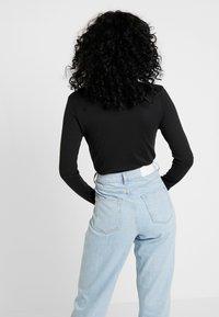 Missguided - LONG SLEEVE CREW NECK BODYSUIT 2 PACK - T-shirt à manches longues - black - 3