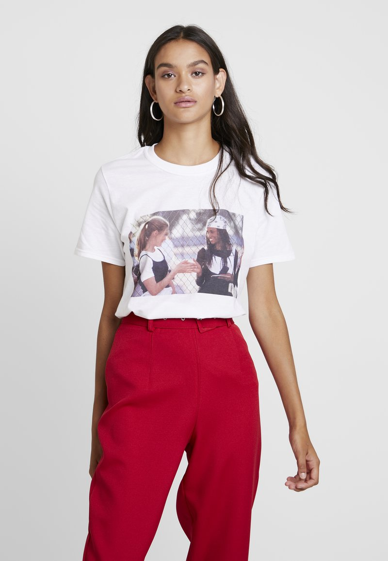 Missguided - CLUELESS GRAPHIC - T-Shirt print - white