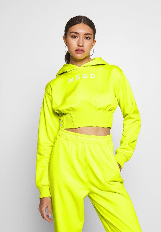 Tracksuit - yellow