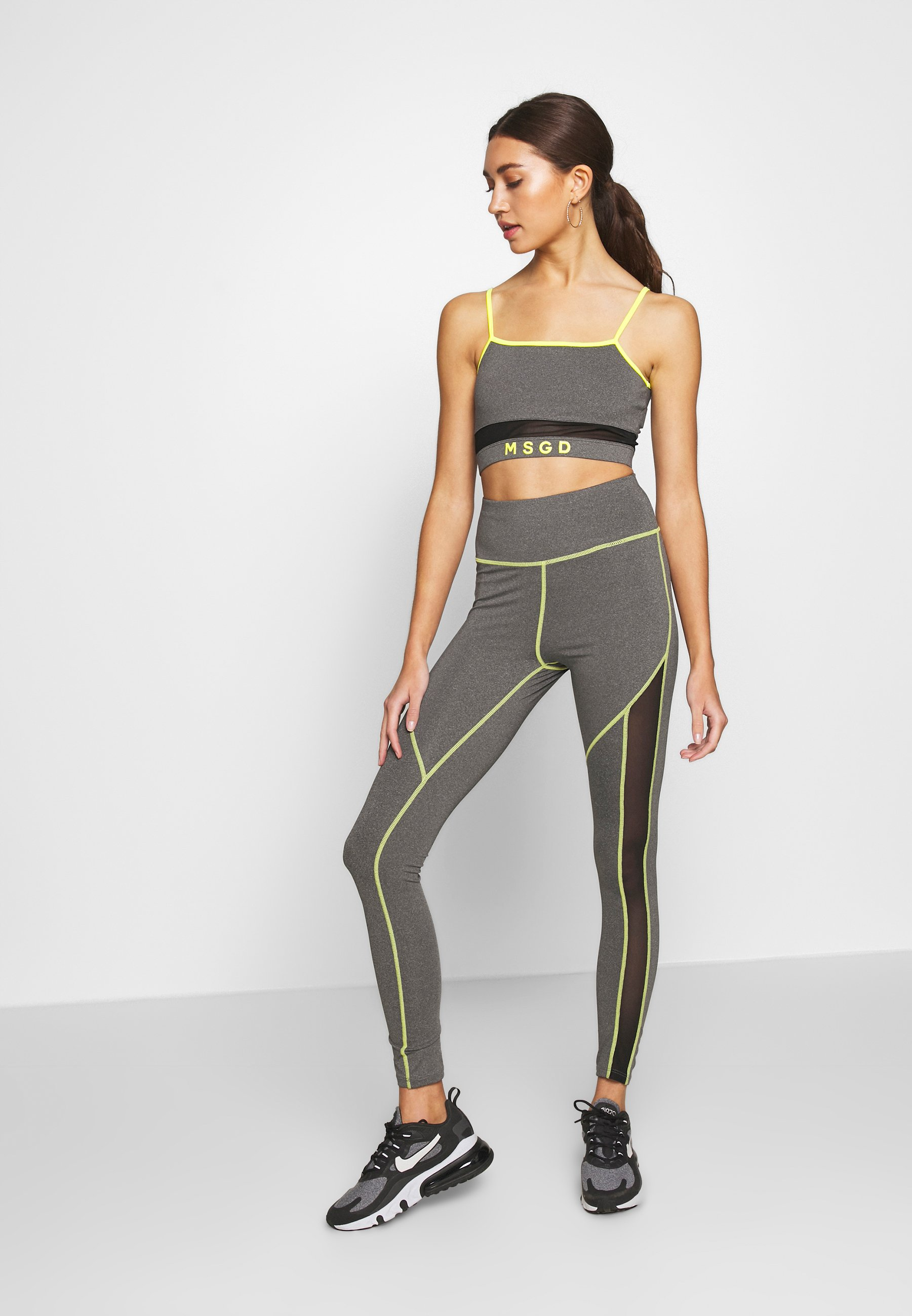 Missguided Tracksuit bottoms - grey