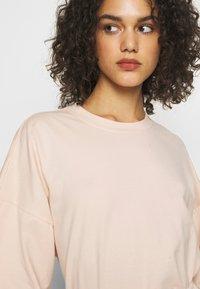 Missguided - DROP SHOULDER OVERSIZED 2 PACK - T-shirt basic - black/pink - 5
