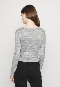 Missguided - BRUSHED WRAP - Pullover - grey - 2