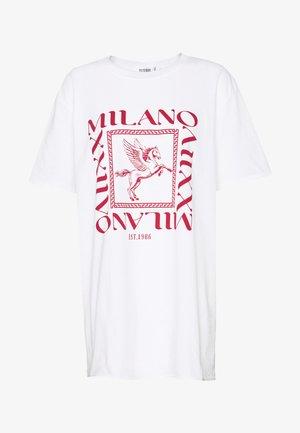 MILANO GRAPHIC SHORT SLEEVE  - T-shirt imprimé - white