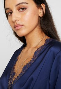 Missguided - WRAP BUTTON - Blus - navy - 3
