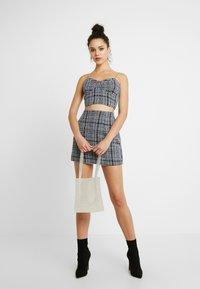 Missguided - CHAIN STRAP - Top - navy - 1