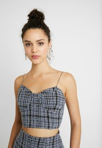 Missguided - CHAIN STRAP - Top - navy - 5