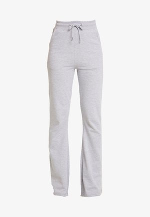 LOOPBACK FLARE JOGGERS - Tracksuit bottoms - grey marl