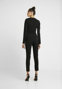 Missguided - LONGSLEEVE SWEETHEART UNITARD - Overal - black - 2