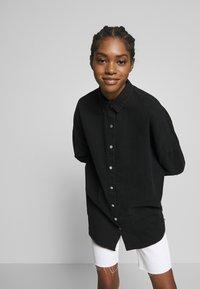 Missguided - WASHED - Skjorte - black - 3