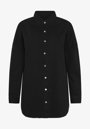 WASHED - Skjorte - black