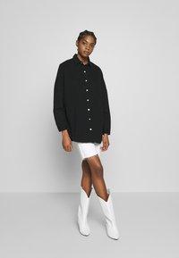 Missguided - WASHED - Skjorte - black - 1