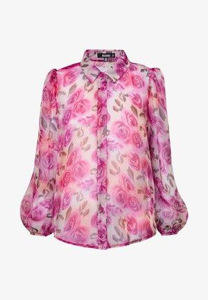 SHEER ROSE SHIRT - Blouse - pink