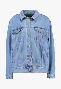 Missguided - OVERSIZED JACKET - Veste en jean - stonewash - 6