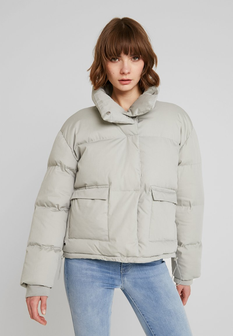 Missguided - ULTIMATE PUFFER - Winter jacket - grey