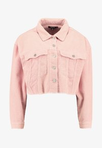 Missguided - CROPPED JACKET - Giacca leggera - pink - 4