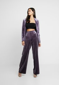 Missguided - LIGHT MAGIC TIE WAIST - Blazer - purple - 1