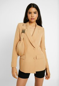 Missguided - DOUBLE BREASTED BUMBAG - Blazer - camel - 3