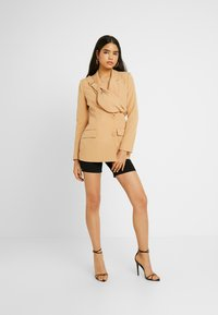 Missguided - DOUBLE BREASTED BUMBAG - Blazer - camel - 1