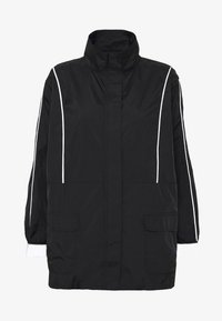 Missguided - CODE CREATE JACKET WITH REFLECTIVE PIPING - Bomber Jacket - black - 4