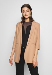Missguided - PRICE POINT BASIC - Blazer - camel - 0