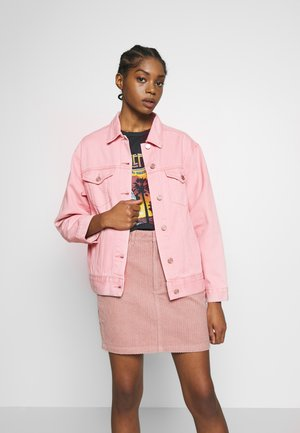 OVERSIZED JACKET - Giacca di jeans - blush