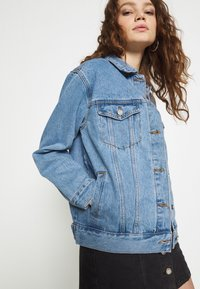 Missguided - OVERSIZED JACKET - Jeansjakke - blue - 4