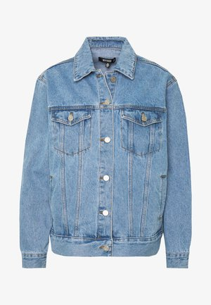 OVERSIZED JACKET - Denim jacket - blue