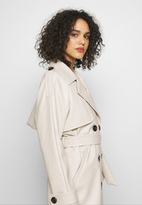 Missguided - Trench - cream - 4