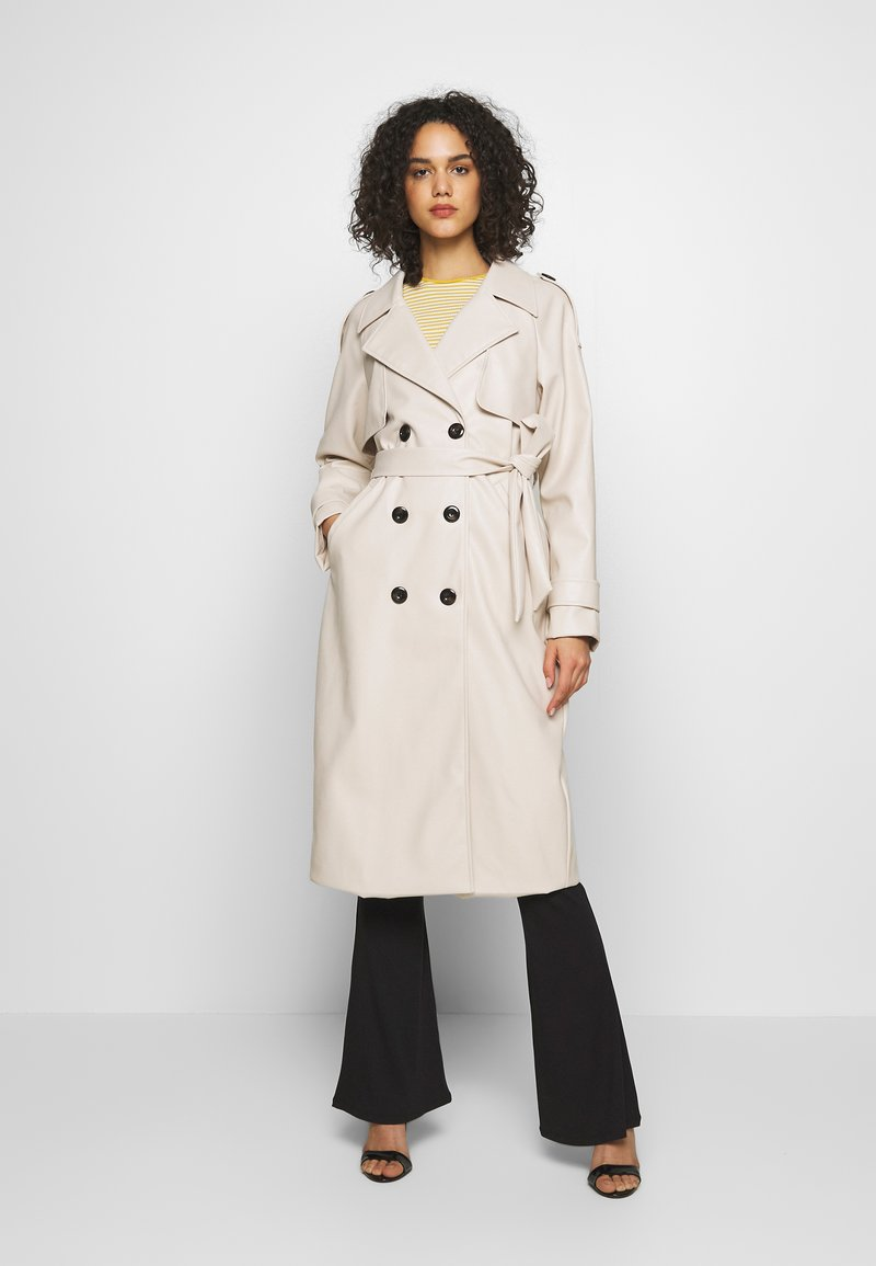 Missguided - Trench - cream