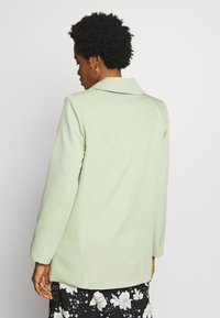 Missguided - OVERSIZED BUTTON - Blazer - mint green - 2