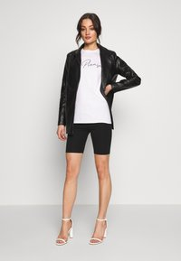 Missguided - Short coat - black - 1