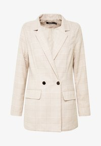 Missguided - PRINCE OF WALES CHECK - Blazer - stone - 3
