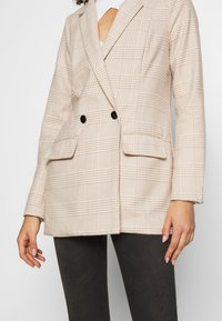 Missguided - PRINCE OF WALES CHECK - Blazer - stone - 4