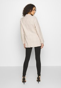 Missguided - PRINCE OF WALES CHECK - Blazer - stone - 2