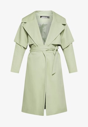 WATERFALL COAT - Trenchcoat - mint