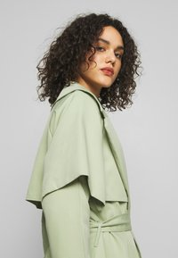 Missguided - WATERFALL COAT - Trench - mint - 3