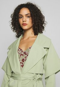 Missguided - WATERFALL COAT - Trench - mint - 2