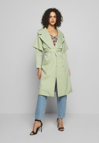 Missguided - WATERFALL COAT - Trench - mint - 0