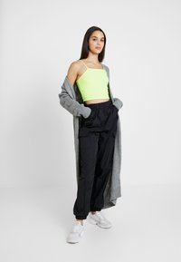 Missguided - MAXI BELTED CARDIGAN - Cardigan - grey - 1