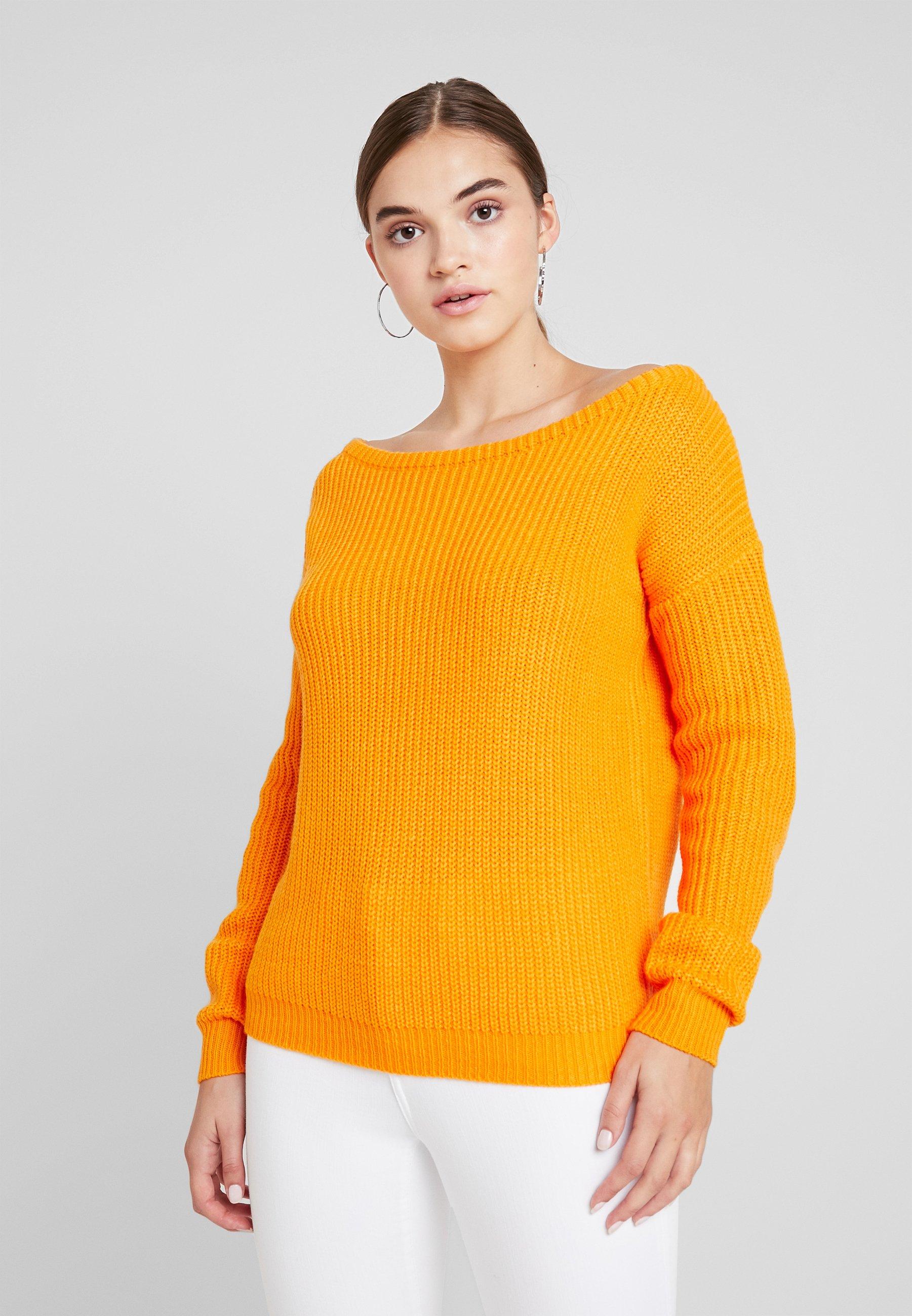 Missguided Ophelita Shoulder JumperPullover Off Orange ZTOuwiPkX
