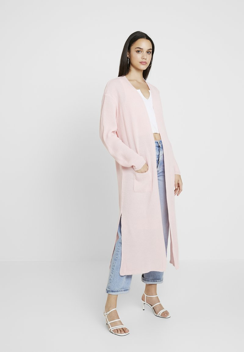 Missguided - MAXI CARDIGAN - Gilet - pink