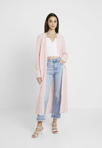 Missguided - MAXI CARDIGAN - Gilet - pink - 1
