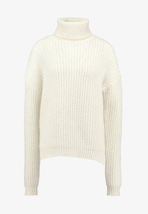 ROLL NECK JUMPER - Svetr - winter white