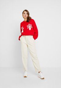 Missguided - SNOWFLAKE JUMPER CHRISTMAS - Jumper - red - 1
