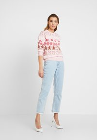 Missguided - CHRISTMAS GINGERBREAD MAN JUMPER - Jumper - pink - 1