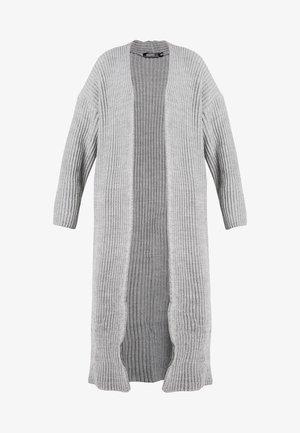 MAXI CARDIGAN - Vest - grey