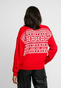 Missguided - CHRISTMAS FAIRISLE JUMPER - Jumper - red - 2